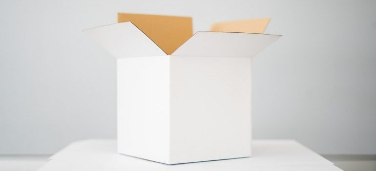 A packing box