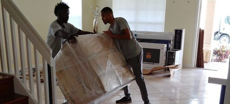 residential movers Florida packing a big item