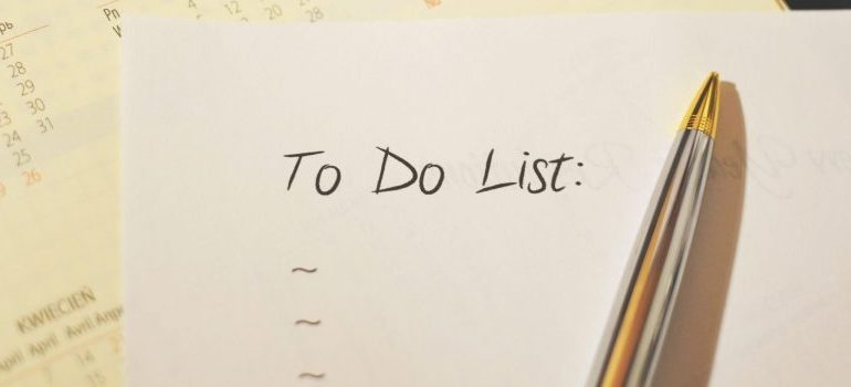a to=do list