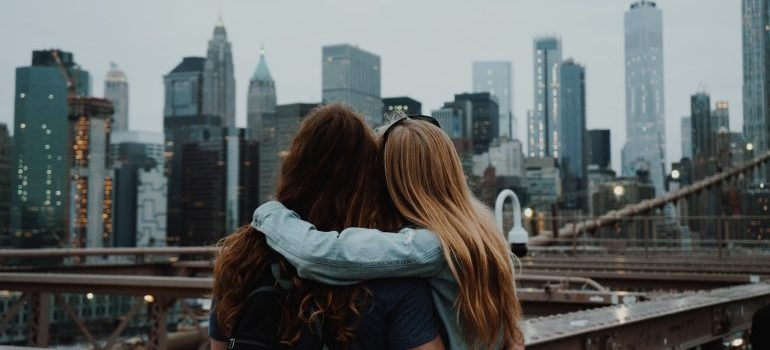 Hugging in NYC